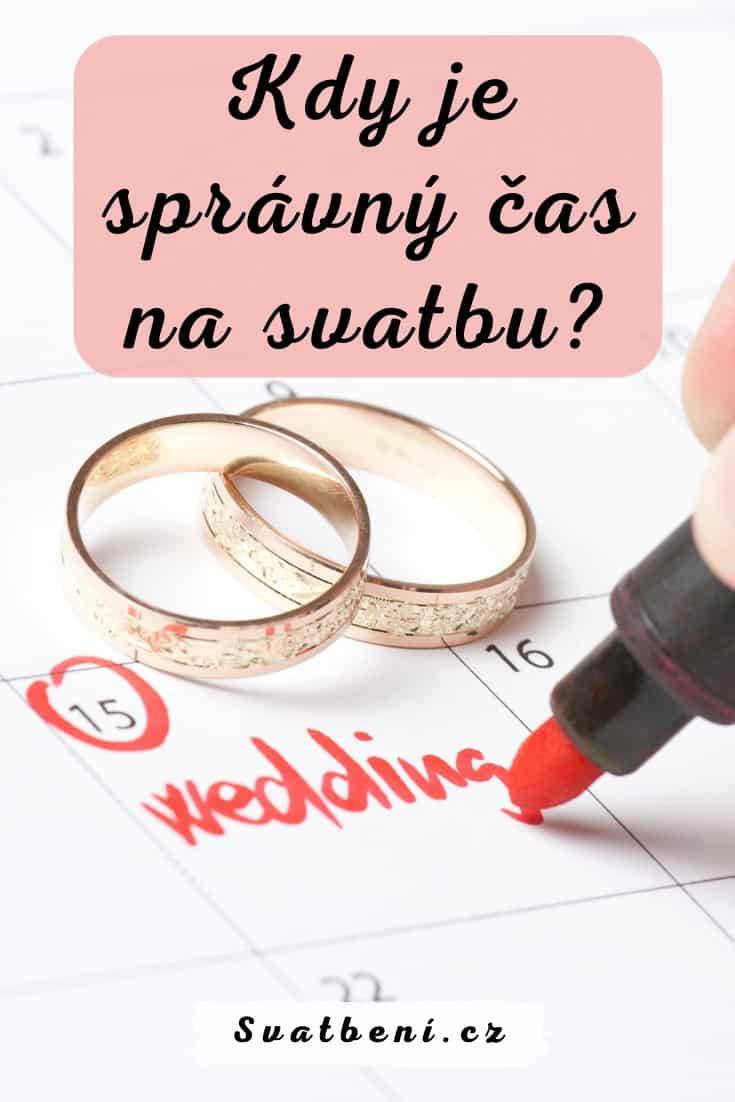 Kdy je správný čas na svatbu - Kdy se vzít