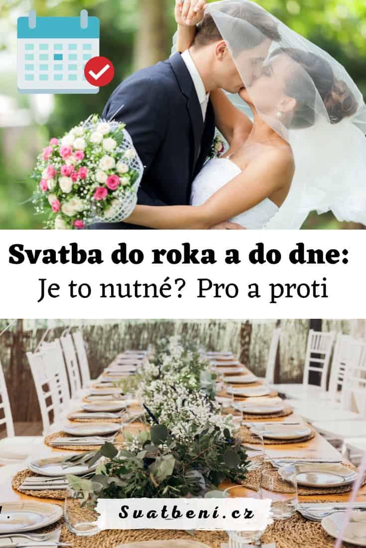 Proč má být svatba do roka a do dne (1)