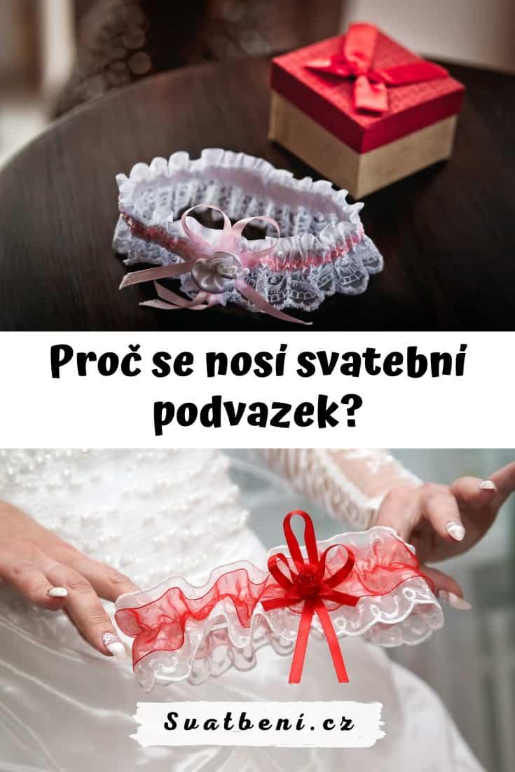Proč se nosí svatební podvazek?
