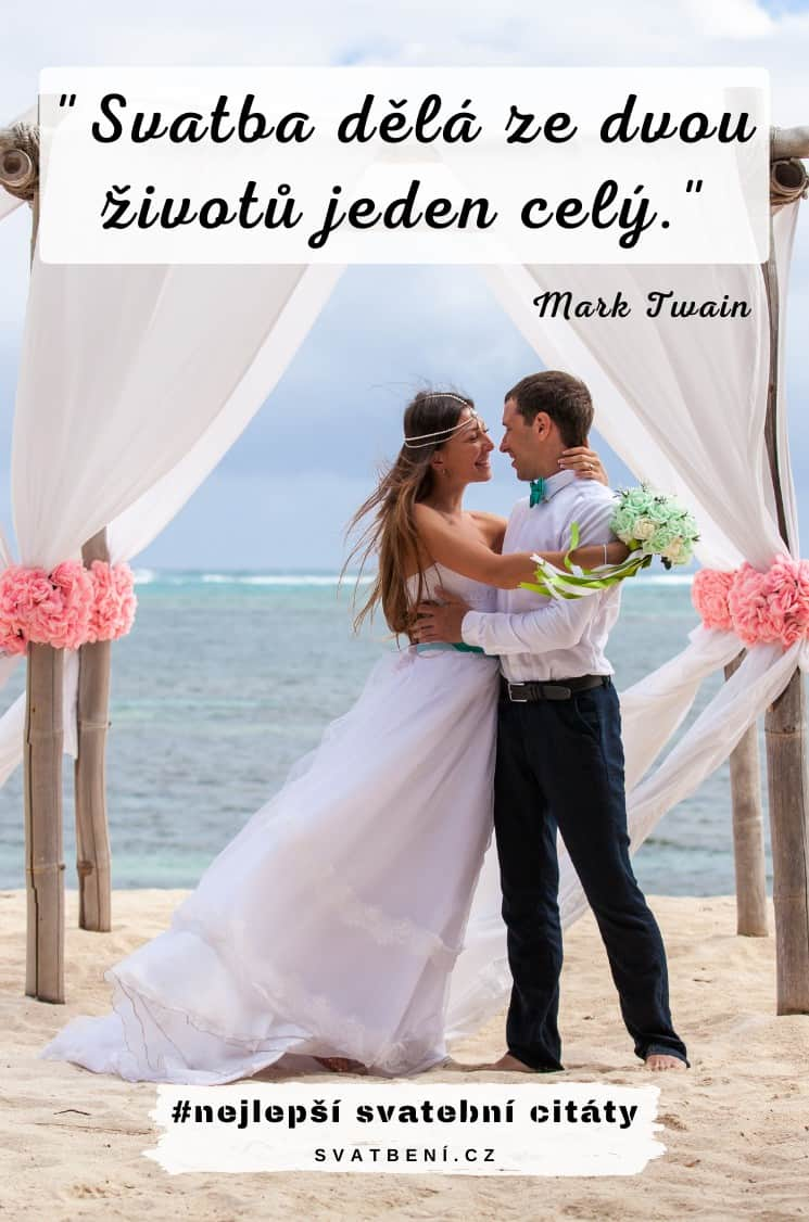 Svatební citáty slavných