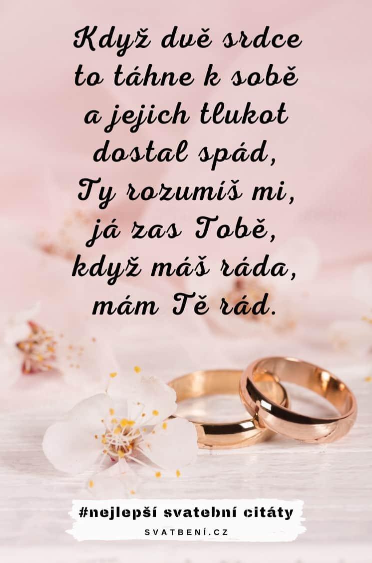 Další krásné svatební citáty