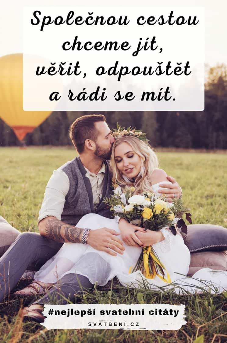 Svatební citáty na oznámení