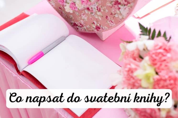 Co napsat do svatební knihy