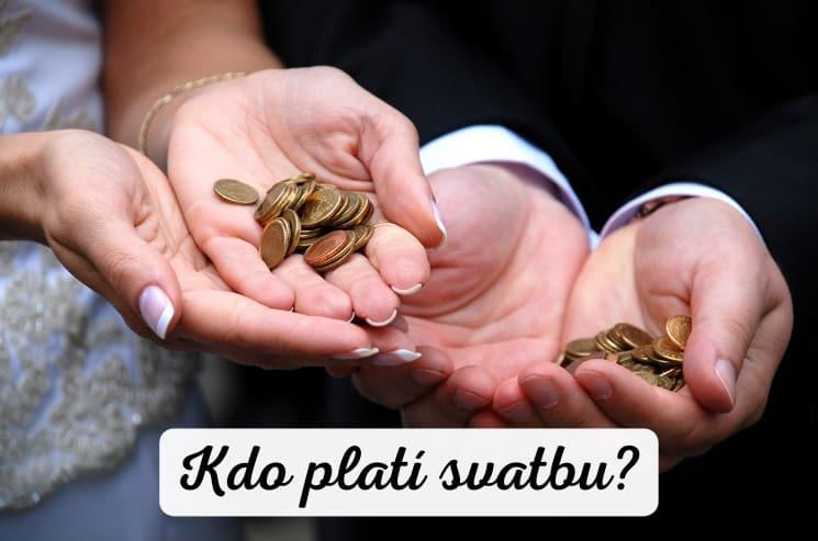 Kdo platí svatbu