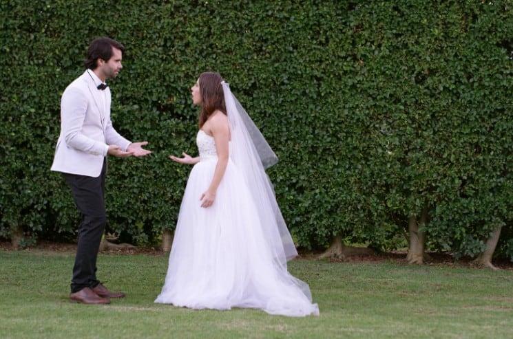 Nervozita ve svatební den