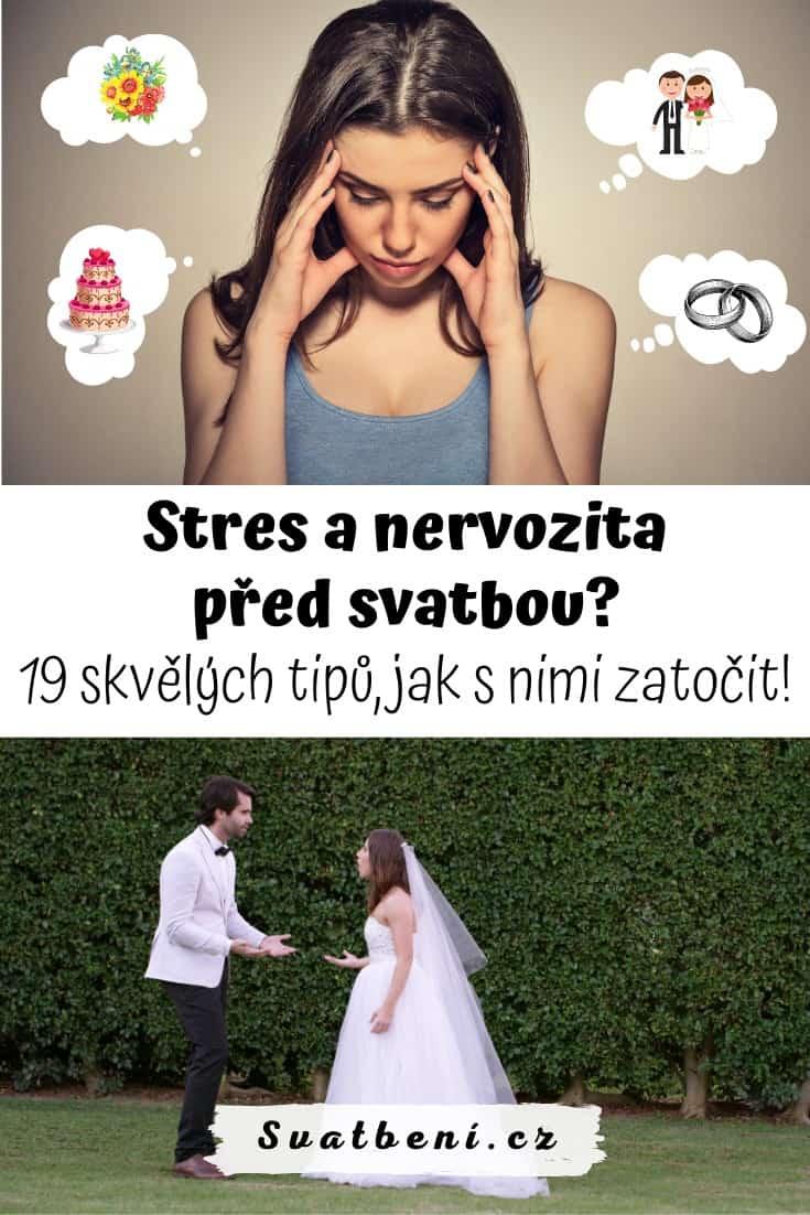 Stres a nervozita před svatbou: 19 tipů, jak s nimi zatočit! 1