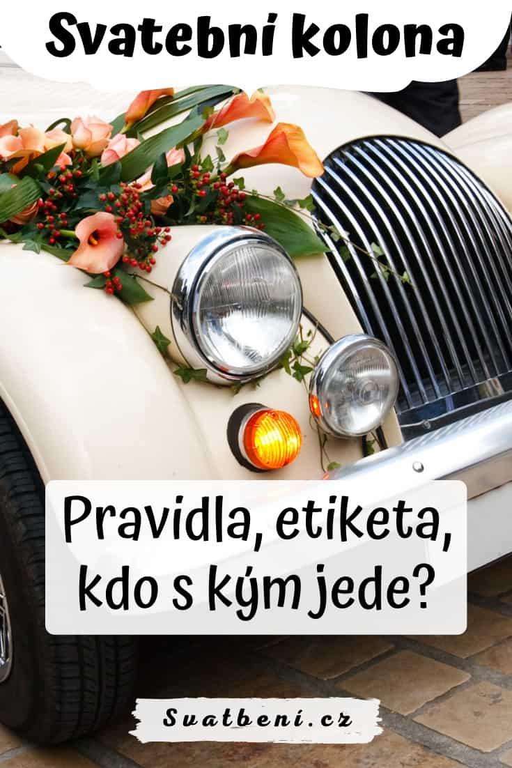 Svatební kolona: pravidla, kdo s kým jede v autě? 1