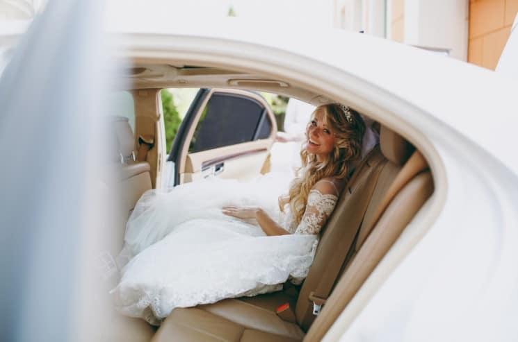Svatební kolona