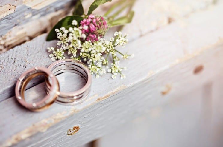 Svatební zvyky - snubní prsteny