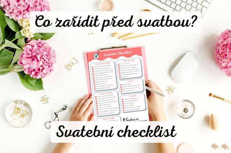 Svatební checklist - Co zařídit před svatbou?