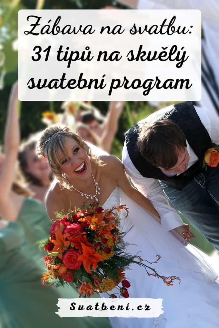 Zábava na svatbu - svatební program
