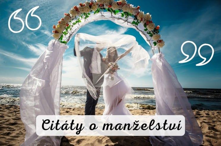 Nejkrásnější citáty o manželství