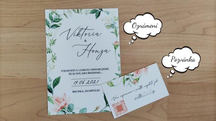 Pozvánka na svatbu – co by nemělo chybět a kdy ji rozeslat? 1