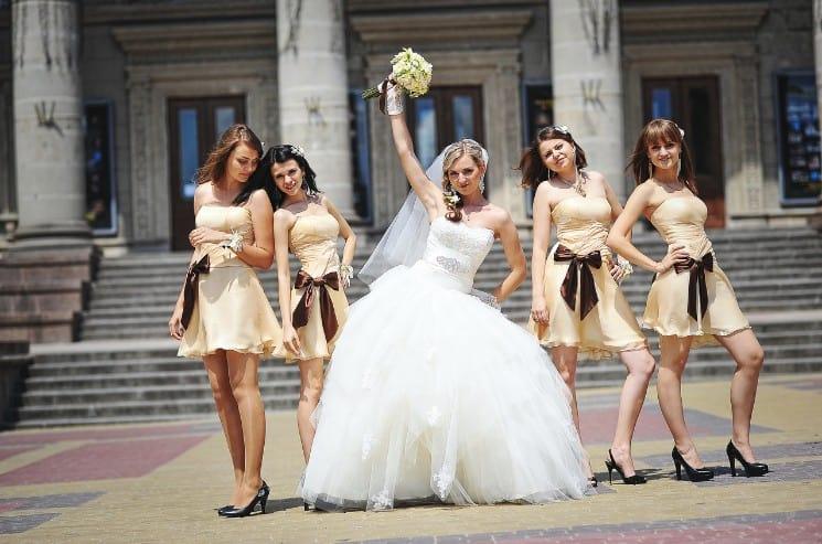 svatební svědkyně