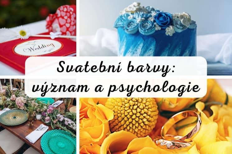 Svatební barvy: význam a psychologie