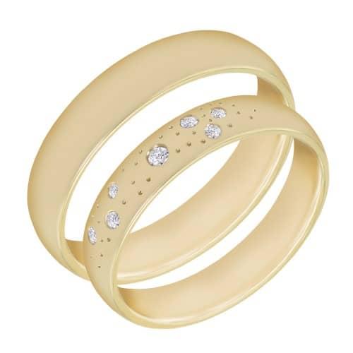 Snubní a zásnubní prsteny (jaký je mezi nimi rozdíl, kde se nosí a jak vybrat?) 11