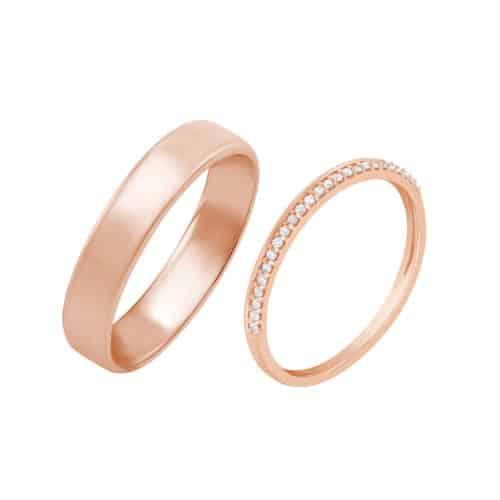 Snubní a zásnubní prsteny (jaký je mezi nimi rozdíl, kde se nosí a jak vybrat?) 12