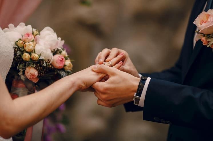 Výměna snubních prstenů