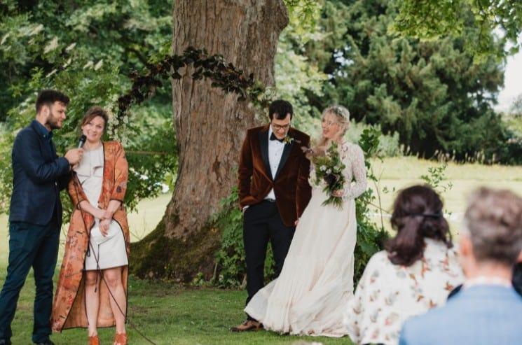 Průběh svatebního obřadu